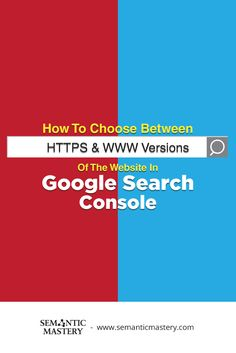 How To Choose Between HTTPS & WWW Versions Of The Website In Google Search Console? #SEO via http://semanticmastery.com/how-to-choose-between-https-www-versions-of-the-website-in-google-search-console/