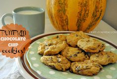 Craft-O-Maniac: The Best Pumpkin Chocolate Chip Cookies