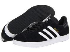 adidas Originals Gazelle Black/White/Black - Zappos.com Free Shipping BOTH Ways