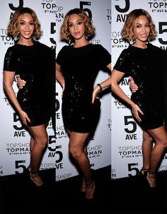 """ Beyoncé @ the Topshop Topman NYC opening dinner (11.4.14) """