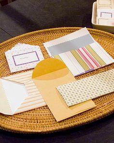 Making Custom Envelopes