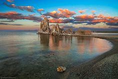 A tranquil sunset at Mono Lake, shot at last summer (May'12), Calif.