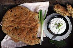 Medvehagymás tökmagos kenyér | Reviczky