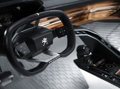 The Peugeot Fractal has an interior and exterior identity developed for the first time in partnership with sound designer Amon Tobin.