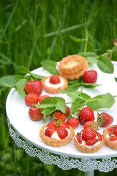 Tartelettes mit Erdbeeren #strawberry #ichbacksmir #erdbeeren
