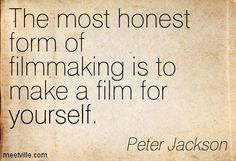 The most honest form of filmmaking is to make a film for yourself. Song Lyric Quotes, Film Quotes, Jupiter Film, Filmmaking Quotes, Film Tips, Short Film Festivals, Digital Film, Coaching, Best Cinematography