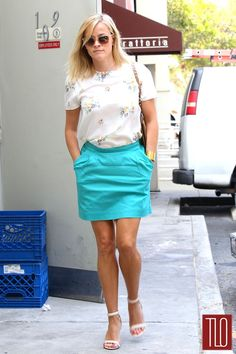 Reese Witherspoon in Band of Outsiders in West LA   Tom & Lorenzo Fabulous & Opinionated