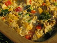 best chicken tetrazzini - 15 minutes to prep, 30 to bake