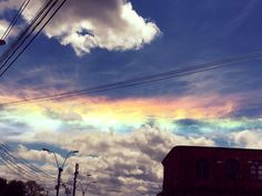 Фобос. Iridescent clouds in Paraguay.  March 17, 2017.  © Ana Beatriz Fernandez