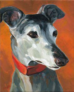 Greyhound Portrait by Xan Blackburn Greyhound Kunst, Animal Photography, Equine Photography, Arte Dachshund, Pet Rocks, Dog Paintings, Black Labs, Black Labrador, Art For Art Sake