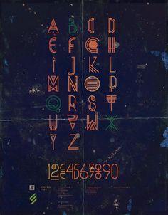 KINESIS TYPE by Luis Miguel Torres, via Behance