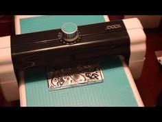 spellbinders hot foil - YouTube