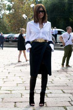 Christine Centenera @ Milan Fashion Week
