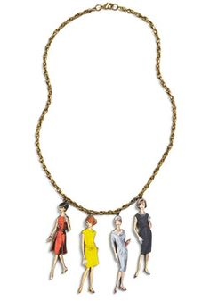 World's Smallest Lookbook Necklace, #ModCloth