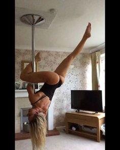Pole dance - moves #poletrick #poledance #polegirl #pole