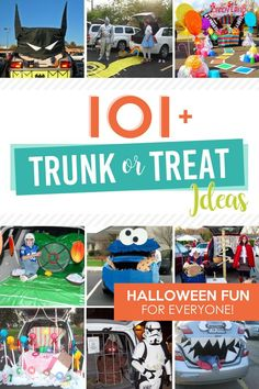 Impress everyone at the Halloween parking lot party with this list of Trunk or Treat Ideas! Let us inspire your Halloween car decorations! Halloween Party Decor, Halloween Treats, Halloween Fun, Halloween Costumes, Truck Or Treat, Creative Date Night Ideas, Holiday Dates, Holiday Ideas, Diy Shops