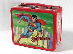 Vintage Superman Lunchbox