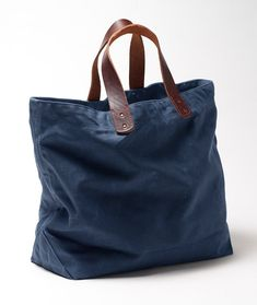 Signature Waxed-Canvas Tote