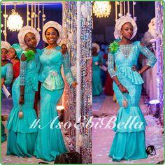 blue bellanaijaweddings asoebibella asoebi nigerianwedding bellanaijaweddings
