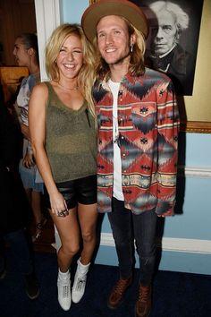 Ellie Goulding & Dougie Poynter.