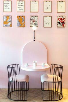 restaurant interieur Restaurant interior design id - Restaurant Interior Design, Modern Interior Design, Kitchen Interior, Contemporary Interior, Apartment Interior, Room Interior, Modern Decor, Interior Plants, Modern Wall