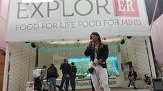 """In #piazzettaER a #Expo2015  le iniziative di Confindustria Emilia-Romagna Laboratori olfattivi e """"vestire il cibo"""" #Industrial #vision"""