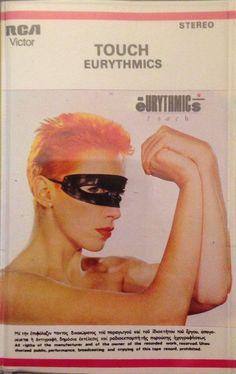 4700 - Eurythmics - Touch - Greece - Cassette - CI-TC-RCLP 20287 - http://www.eurythmics-ultimate.com/4700-eurythmics-touch-greece-cassette-ci-tc-rclp-20287/