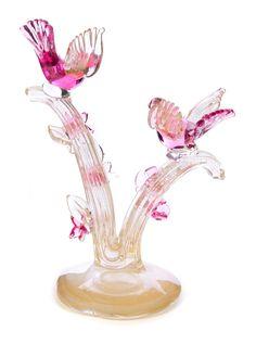 VENETIAN MURANO GLASS BIRD SCULPTURE Bird Sculpture, Glass Birds, Art Auction, Murano Glass, Venetian, Crates, Art Decor, Cubbies, Drawers