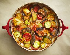 Briam (Greek medley of baked vegetables)