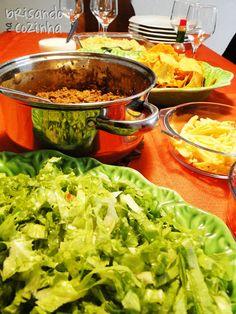 Brisando na Cozinha: Arriba Mérrico! Chilli e Guacamole