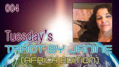 Tuesday's Tarot with Janine (004) Oprah, Tarot Cards, Tuesday, Education, Youtube, Tennis, Tarot Card Decks, Onderwijs, Learning