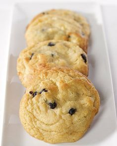 Blueberry-and-Cream Cookies - many steps, but look great. Must buy liquid glucose & unsalted butter (I use Kerry Gold)