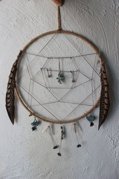 Little Bird Dreamcatcher & Positive Emanation Creation by ElvenWay on Etsy- For Bird Energy in the Home!