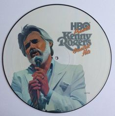 Kenny Rogers - HBO Presents Kenny Rogers Greatest Hits LP Vinyl Record Album, Liberty - SLL-1-8344, Country, 1983, Original Pressing