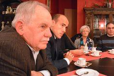 Spotkanie z ludźmi kultury w restauracji Secesja