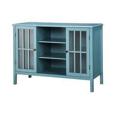 Windham Two-Door Storage Cabinet Red - Threshold™ : Target ...