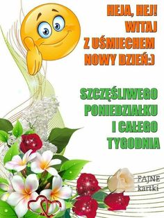Emoticon, Lol, Character, Good Morning Funny, Polish, Pictures, Smiley, Lettering, Fun