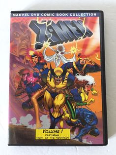 X-Men Comic Volume 1 Featuring Night of the Sentinels Marcel Comic DVD  | eBay