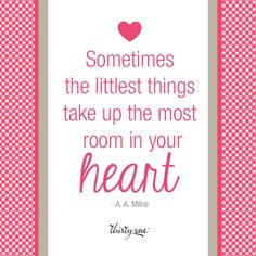 The littlest things.. (Baby Steps ~ Begin with the essentials, and it all grows from there.)