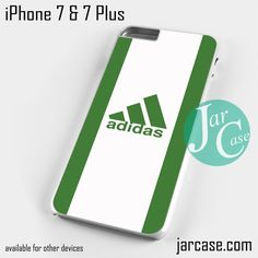 dark green sport adidas Phone case for iPhone 7 and 7 Plus