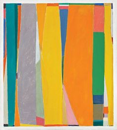 John Opper, 'Untitled (10E)', 1969, acrylic on canvas, 60 x 54 inches, as shown in exhibition at David Findlay Junior Fine Art in spring 2011.