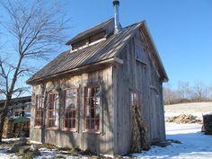 clerestory, pink windows, Vermont?