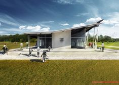 Copeland Associates Architects Design New Soccer Clubhouse in Auckland,Courtesy of Copeland Associates Architects