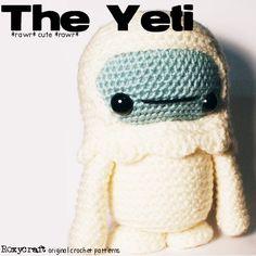 The Yeti Crochet Amigurumi Pattern