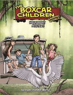 Houseboat Mystery: A Graphic Novel (Boxcar Children Graphic Novels # 16) by Gertrude Warner http://www.amazon.com/dp/0807533955/ref=cm_sw_r_pi_dp_MZovub06NXA5H