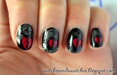 Broken Heart Nails