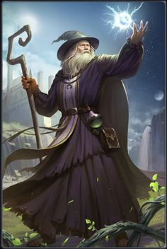 m Wizard hilvl Robes Cloak Staff Castle Farmland Casting Portal spell Story lg High Fantasy, Fantasy Rpg, Medieval Fantasy, Fantasy Artwork, Dnd Dragons, Dungeons And Dragons, Merlin The Magician, Character Inspiration, Character Art