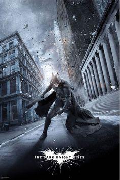Nuevo cartel de El caballero oscuro: la leyenda renace - Batman