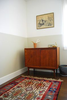Half Painted Walls -- where can i do this?? maybe the entry way or front bedroom/office