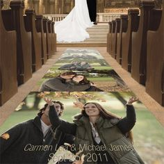Incredible Unique Wedding Aisle Runners You Never Thought of 12 - https://www.facebook.com/diplyofficial